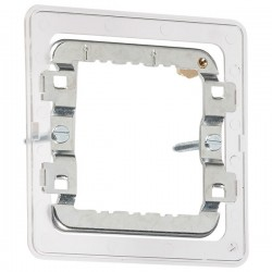 Knightsbridge 1-2 Gang Screwless Grid Mounting Frame