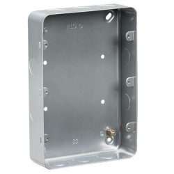 Knightsbridge Metal Clad 9-12 Gang Surface Mount Back Box