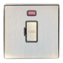 Eurolite Antique 13A Fuse Connection Unit with Neon