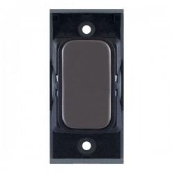 Selectric GRID360 Black Nickel Blank Module with Black Insert