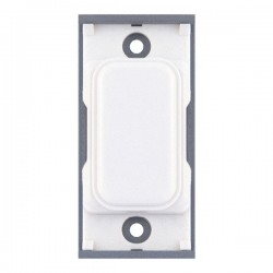 Selectric GRID360 White Blank Module with White Insert