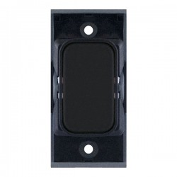 Selectric GRID360 Matt Black Blank Module with Black Insert