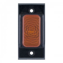 Selectric GRID360 Amber Neon Module with Black Insert