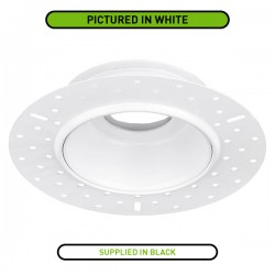 Aurora Lighting Black Trimless Bezel for mPro LED Downlights