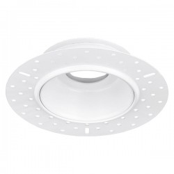 Aurora Lighting White Trimless Bezel for mPro LED Downlights