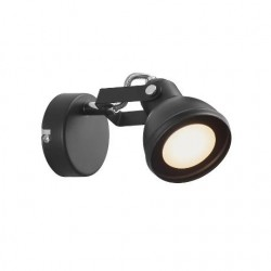Nordlux Aslak Black Wall Light