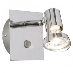 Nordlux Mainroad Chrome Wall Light