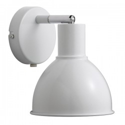Nordlux Pop White Wall Light