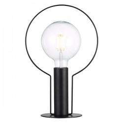 Nordlux Dean Halo Black Table Lamp