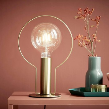 Nordlux Dean Halo Brass Table Lamp