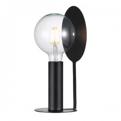 Nordlux Dean Disc Black Table Lamp