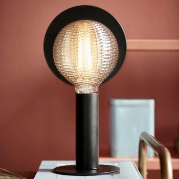 Nordlux Dean Disc Black Table Lamp