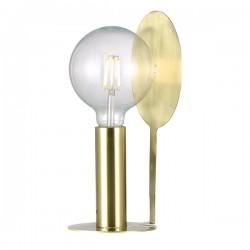Nordlux Dean Disc Brass Table Lamp