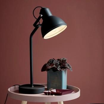 Nordlux Aslak Black Table Lamp