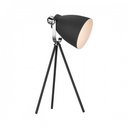 Nordlux Largo Black Table Lamp