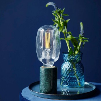Nordlux Siv Green Marble Table Lamp