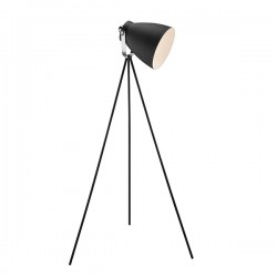 Nordlux Largo Black Floor Lamp
