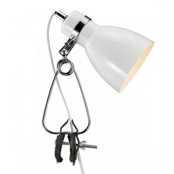 Nordlux Cyclone Clamp White Spotlight