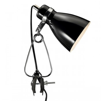 Nordlux Cyclone Clamp Black Spotlight