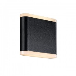 Nordlux Akron 11 Up/Down Black Outdoor Wall Light