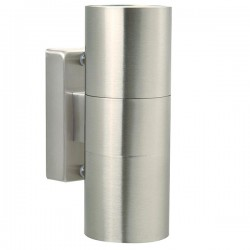 Nordlux Tin Up/Down Stainless Steel Outdoor Wall Light