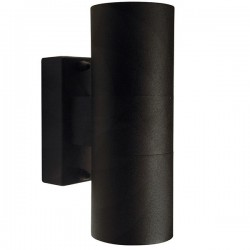 Nordlux Tin Up/Down Black Outdoor Wall Light