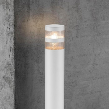 Nordlux Birk White Outdoor Bollard Light