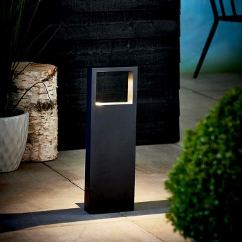 Nordlux Avon Black Outdoor Bollard Light