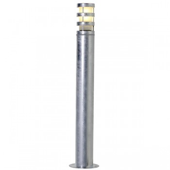 Nordlux Darwin Galvanised Steel Outdoor Bollard Light