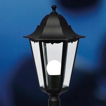 Nordlux Cardiff Black Outdoor Bollard Light