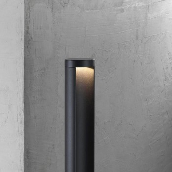 Nordlux Mino 70 Black Outdoor Bollard Light