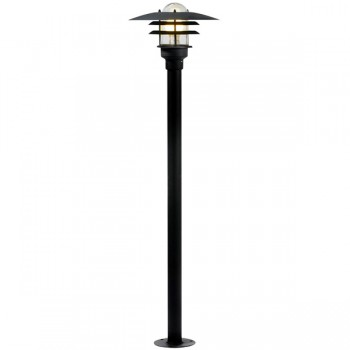 Nordlux Lonstrup 32 Black Outdoor Bollard Light