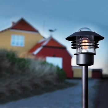 Nordlux Vejers Black Outdoor Bollard Light