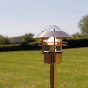 Nordlux Blokhaus Copper Outdoor Bollard Light