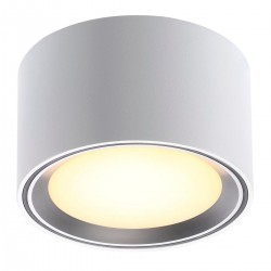 Nordlux Energetic Fallon 6cm Brushed Steel Ceiling Light