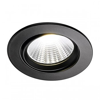 Nordlux Energetic Fremont 2700K Adjustable Black LED Downlight Kit