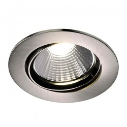 Nordlux Energetic Fremont 2700K Adjustable Brushed Steel LED Downlight Kit