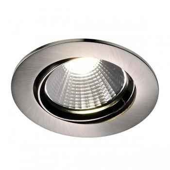 Nordlux Energetic Fremont 2700K Adjustable Brushed Steel LED Downlight Kit
