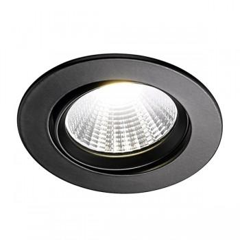 Nordlux Energetic Fremont 4000K Adjustable Black LED Downlight Kit