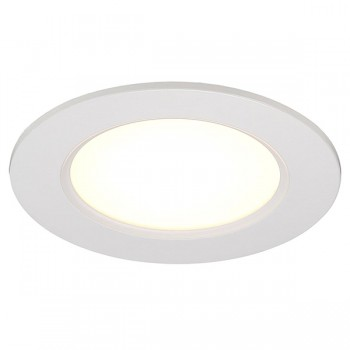 Nordlux Energetic Palma 12 Dimmable White/Satinated LED Downlight