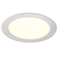 Nordlux Energetic Palma 18 Dimmable White/Satinated LED Downlight