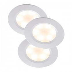 Nordlux Energetic Rogue Triple White LED Downlight Kit