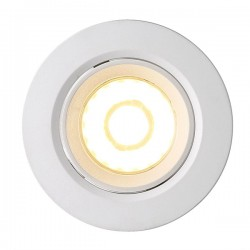 Nordlux Energetic Roar Adjustable Dimmable White Outdoor LED Downlight
