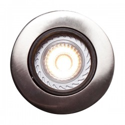 Nordlux Energetic Mixit Pro Brushed Steel Outdoor Downlight