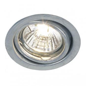 Nordlux Energetic Tip Adjustable Galvanised Steel Outdoor Downlight