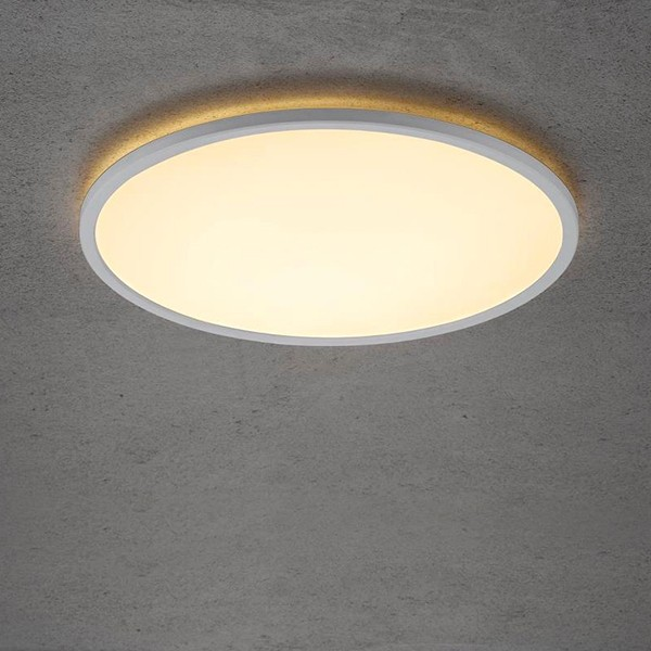 Nordlux Energetic Planura 22W 2700K White LED Ceiling Light
