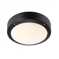 Nordlux Energetic Desi 22 Black Outdoor Ceiling Light