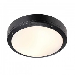 Nordlux Energetic Desi 28 Black Outdoor Ceiling Light