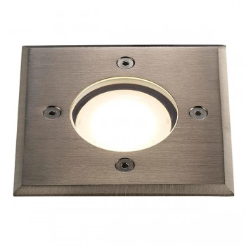 Nordlux Energetic Pato Square Stainless Steel Outdoor Ground Light