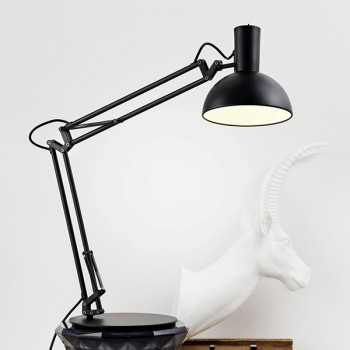 Nordlux DFTP Arki Black Table Lamp